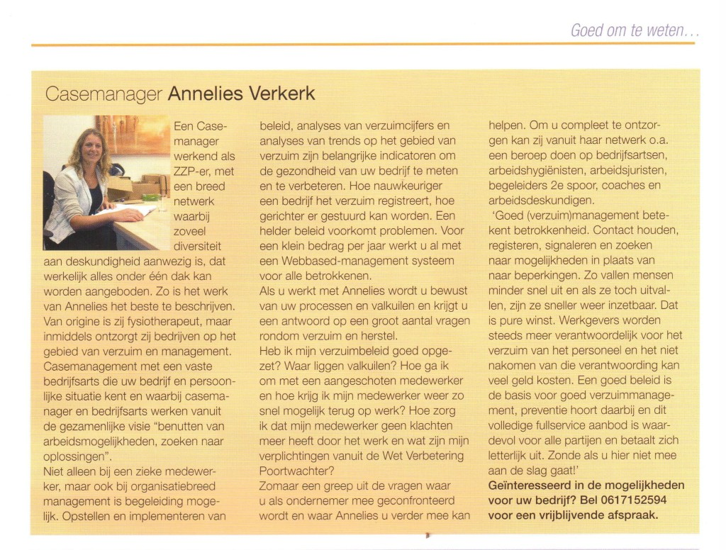In de media Work News Relatiemagazine van Get Work. Jpeg